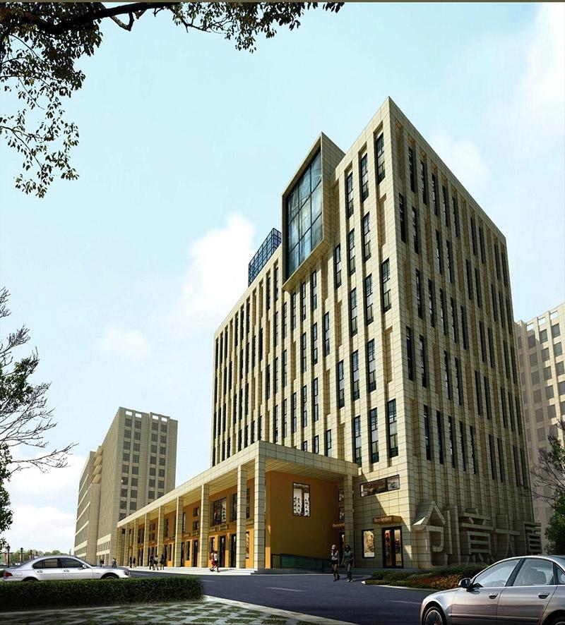 是由北京清尚环艺建筑设计院担当建筑设计